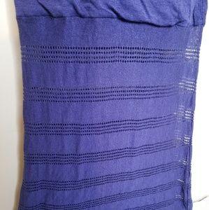 Victoria's Secret Dresses - Victoria Secret Blue Maxi Beach Sun Dress - Small
